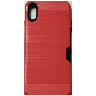 iPhone XS Max Protective Case- Red